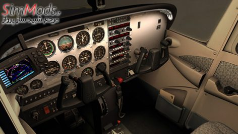 افزودنی A2A Cessna 172 Trainer