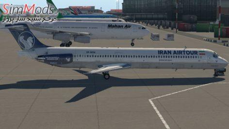 بازنقش ایران ایرتور Rotate MD80