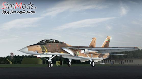 افزودنی Aerosoft F-14 Extended
