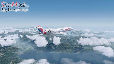 افزودنی Aerosoft CRJ 700/900 X